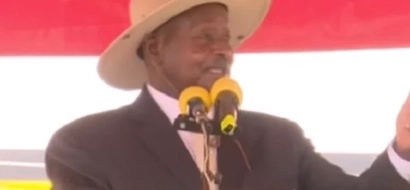 MUSEVENI shocks Ugandans and the world yet again during his 31 YEARS in power celebrations