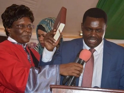 New Tharaka-Nithi governor sacks 1000 workers on his first day in office