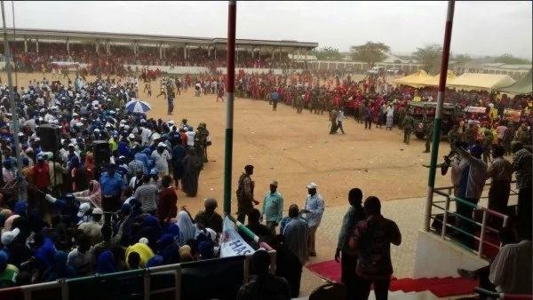 Chaos rocks Jubilee rally in Mandera during UhuRuto campain tour