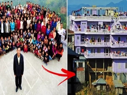 Anak pa more! This man has 39 wives, 94 children and they all live in 1 house!