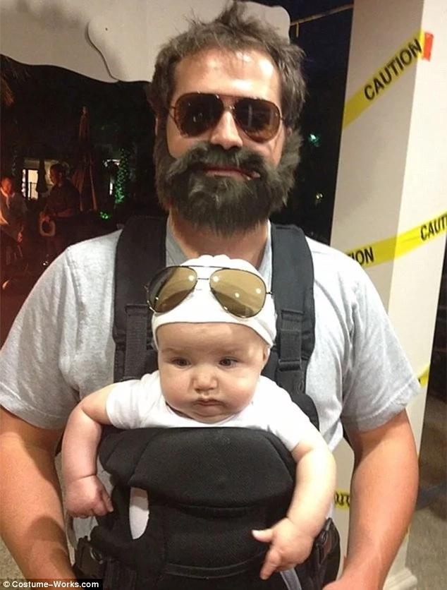 Mira a los padres más locos en Halloween