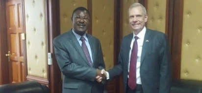 US rubbishes reports it was pushing for unity government between Uhuru and Raila