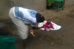 Bungoma elders investigating strange case of a 3 month-old talking baby