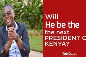 Meet this 39-year-old presidential candidate who believes he can beat Uhuru and Raila in August(video)
