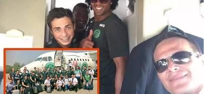 La premonitoria última fotografía de un futbolista muerto en el terrible avionazo