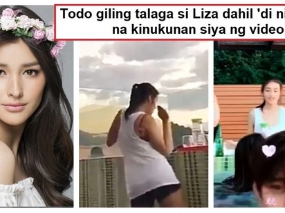 Lambot ng katawan! Liza Soberano was caught on video dancing and went viral