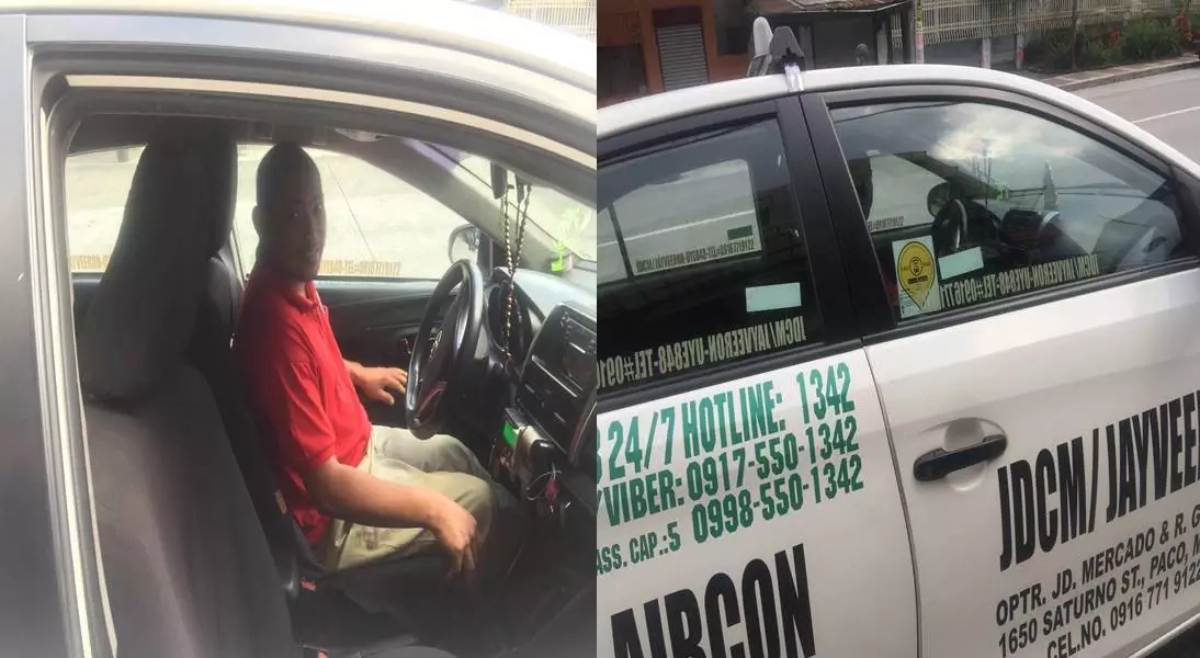 Netizen recalls ride with honest Manila cab driver
