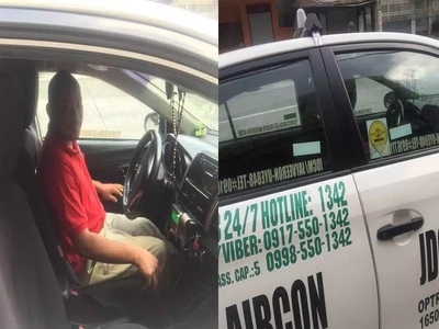 Kabog! Netizen shares inspiring encounter with honest cab driver who returned lost phone to passengers