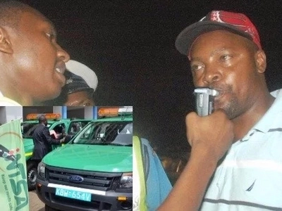 Leaked photo of high-tech gadgets bought by NTSA to combat drink driving