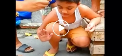 This unsuspecting kid thought he's gonna go after the coin...what happened next isn't what you're expecting!