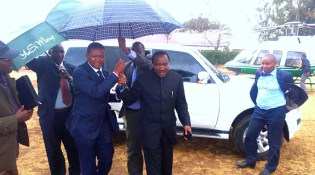 Kalonzo Musyoka explains his recent meeting with Alfred Mutua