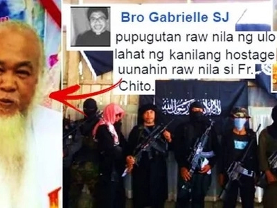 Ipagdasal natin sila! Maute terror group abducted a Catholic priest & burned down a cathedral in Marawi City!