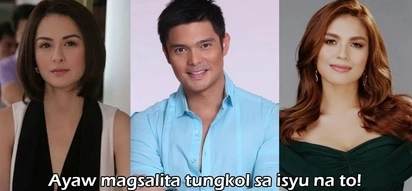 Ayaw sa gitna ng nag-uumpukang bato! Dingdong Dantes maintains silence on Marian Rivera and Andrea Torres' alleged feud
