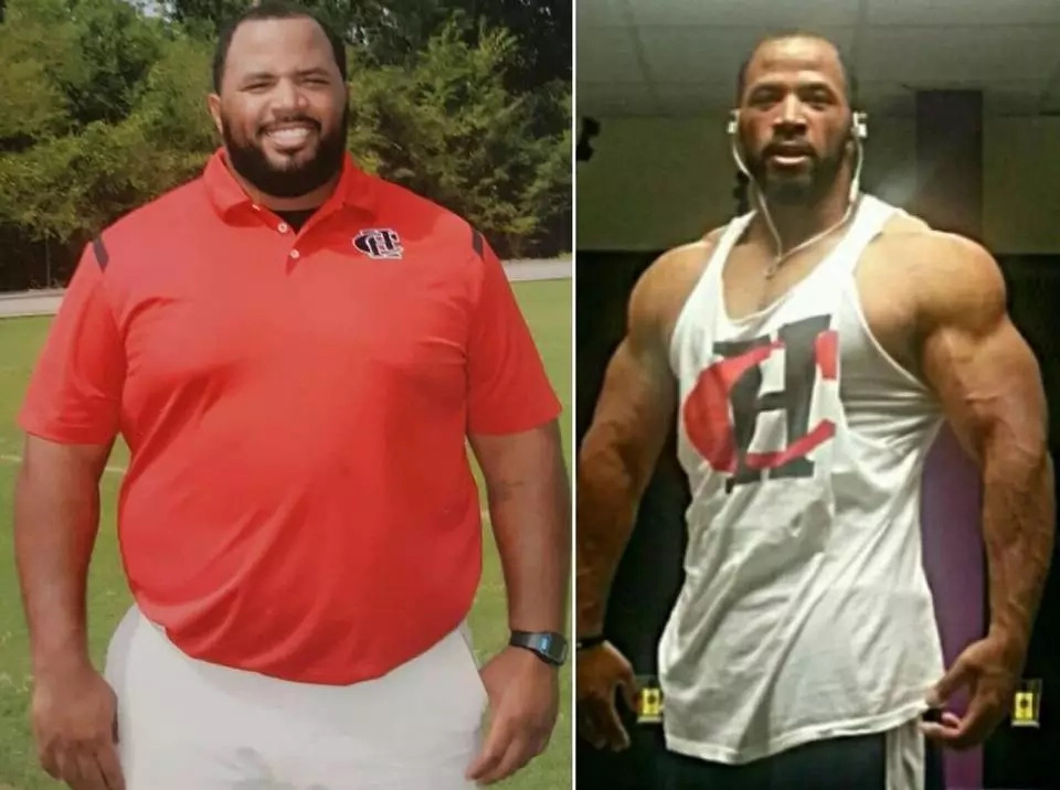 Fit and ripped football coach, 30, uses own transformation to inspire his students (photos, video)