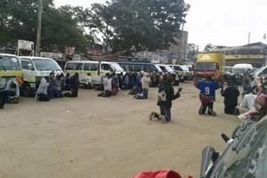 Touching photos of Matatu crew praying that has made Kenyans talk