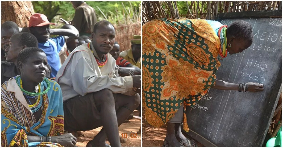 Secondary school dropout runs literacy classes in poverty-stricken Ugandan region (photos)
