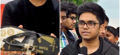 Student, 18, invents 'ElectroShoe' that lets women electrocute indecent assault attackers