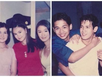 Walang nagbago! Throwback photos of 'G-Mik' cast leave netizens feeling nostalgic