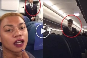 Nakakaloka siya! Netizen captures the most handsome PAL flight attendant