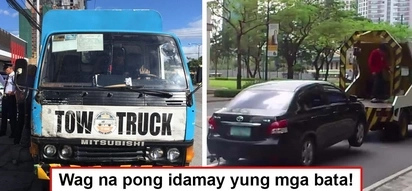 Di man lang nahabag! MMDA tows journalist's car even though his two daughters are still inside scared and crying