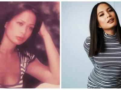 Isabelle Daza is indeed a carbon copy of her mom Gloria Diaz in this gorgeous throwback photo