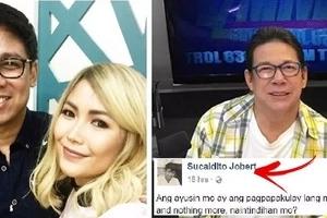 Jobert Sucaldito slams Yeng Constantino on Facebook! The reason will shock you: 'Puro kayo dasal at pa-Bible-Bible but you don't walk your talk!'