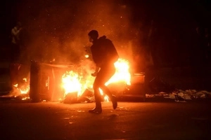 These are the violent clashes that occurred after Trump was declared president