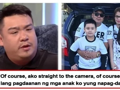 Clingy pa rin sa asawa after 15 years! Vandolph Quizon proud to admit that he is faithful to wife Jenny Salimao-Quizon