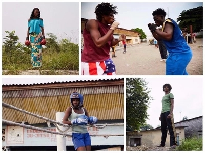 Meet the young Congolese women who abandoned everything else to join boxing club