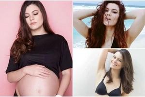 Esta modelo decidió ser madre soltera sin importar lo que digan de ella