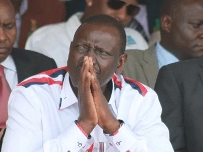 Ruto runs into hostile crowd AGAIN on second day of Western Kenya tour