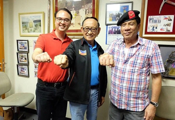 FVR pushed Duterte to run for presidency
