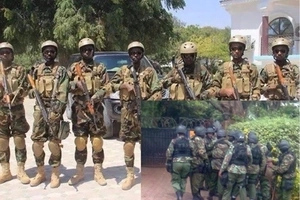 Elite police officers deployed to protect the 6 presidential aspirants
