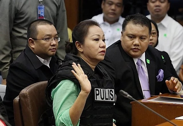 Janet Lim-Napoles revealed that she gave P5M for Senator Drilon's campaign in the 2010 elections