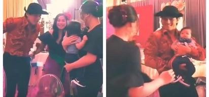 Nagkita na rin sa wakas! Heartwarming video of Robin Padilla meeting Kylie Padilla's son Alas for the very 1st time goes viral