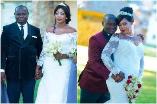 Meet millionaire who weds two ladies hours apart in rare wedding (photos)