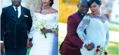 Kenyan millionaire weds two ladies hours apart in rare wedding (photos)