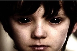 People die in peculiar ways after seeing these black eyed kids. Careful! They might knock on your door!