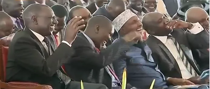 The day Biwott left Uhuru in tears
