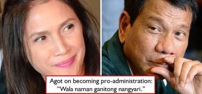 Fake news pa more! Agot Isidro wastes no time to correct fake news that she has become pro-Duterte administration - 'wala naman ganitong nangyari'