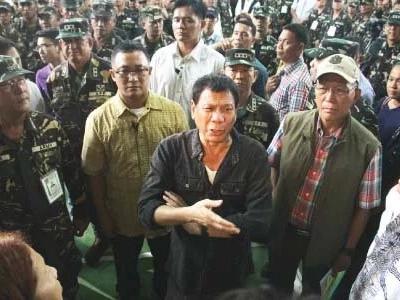 Duterte threatens NPA: Stop using landmines or goodbye peace talks