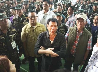 Duterte threatens NPA: Stop using landmines or goodbye peace talks