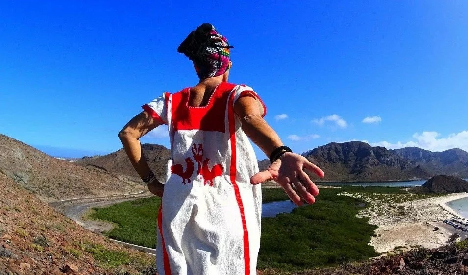 Mother-of-two takes spiritual journey across the globe posing in traditional dresses to cope with divorce (photos)