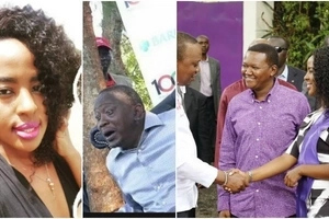 Alfred Mutua's wife meets Uhuru Kenyatta(photos)