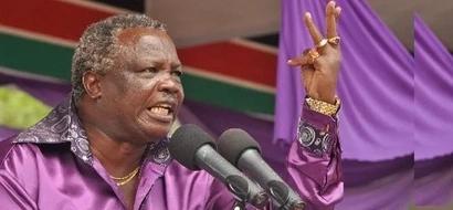 Atwoli warns Alfred Mutua over the colour purple