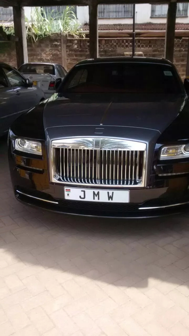 Is this the most expensive car in Kenya?