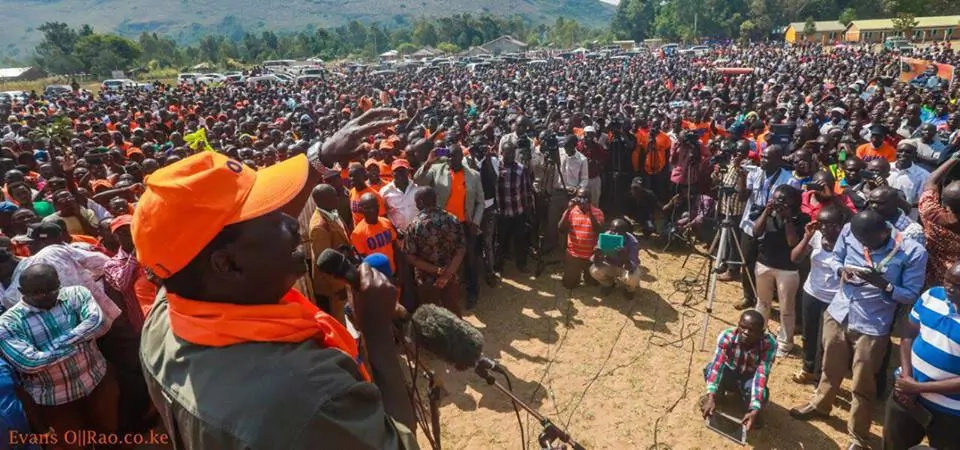 Raila to start 3-month countrywide tour to popularise ODM