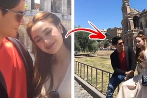 """Daniel Matsunaga, Arci Muñoz spotted together in Italy! """"DarCi"""" fans are left speculating on their real dating status"""