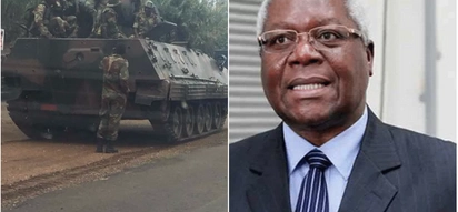 Just in! Zimbabwe's finance minister detained amid military purge, other ministers on the run