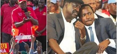 Raila yuko na njama ya kuunda serikali ya mseto kama 2007, Rais Uhuru adai